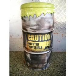 Tabouret radioactif