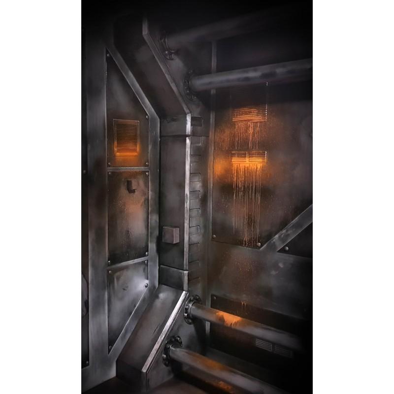 Décoration de vaisseaux spatiaux, sous-marin, laboratoire